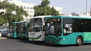 אוטובוסים ברחובות(צילום: אבי מועלם)